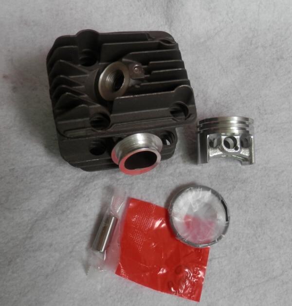 40mm MS200 kit cilindro cromado para St. Motosierra 020 MS200T motosierra zylinder Bock W/anillo de pistón pin clip montaje