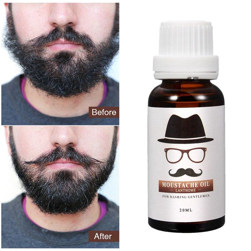 Beard Growth Essential Oil For Men Leg Hair Pubic Chest Mustache Thicker Essence Anti Hair Loss Products Beard Grow Stimulator