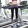 Spring-Autumn Women's Leggings Fitness High Waist Elastic Women Leggings Workout Leggins Pants 2017