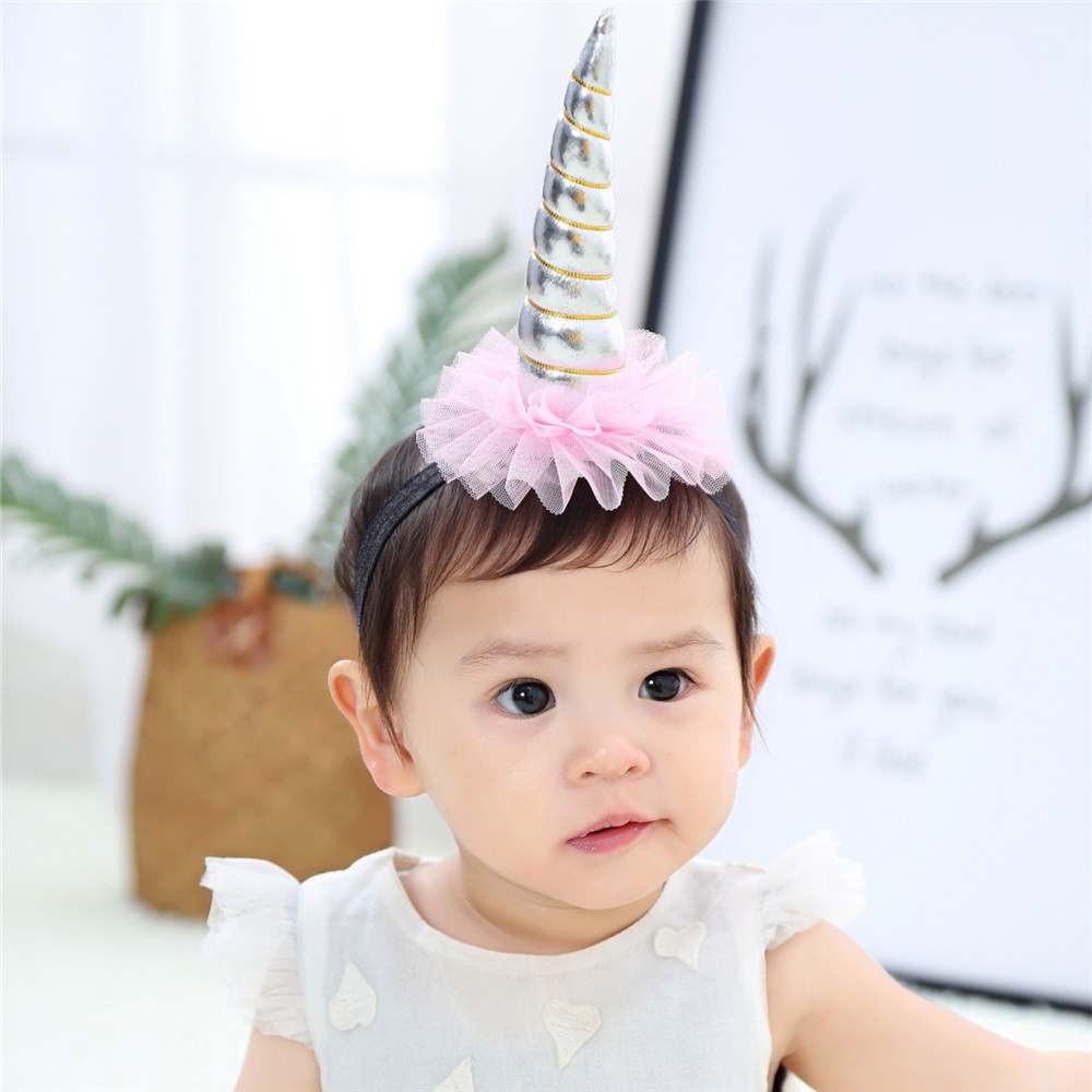 10pcs lot rainbow unicorn horn