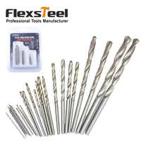 25 Pieces/Set HSS High Speed Steel Mini Micro Manual Hand Twist Drill Bits Set 0.5MM-3MM for DIY Craft Carving