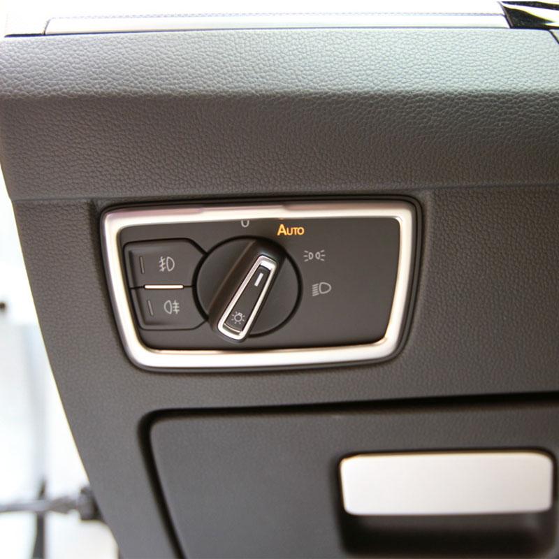 Car Styling Car Headlight Switch Fog Lamp Knorb Sticker