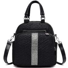 NEW-New Multi-Functional Fashion Handbags Trend Embossed WomenS Shoulder Bag Versatile Handbag
