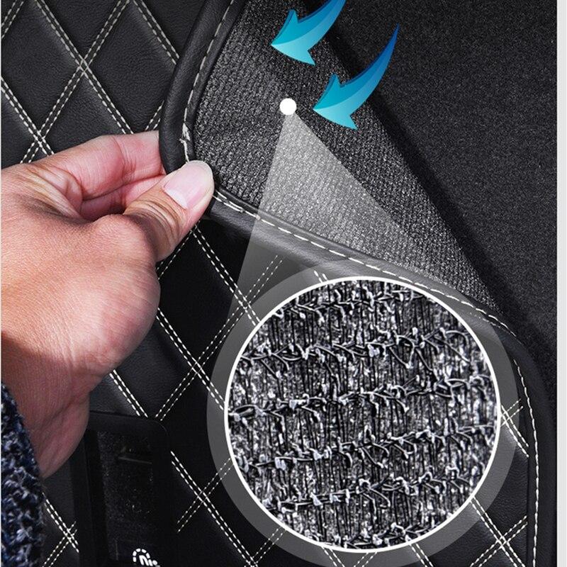 Tapis de protection de coffre de voiture en cuir Pad accessoires de style de voiture pour BMW MINI Cooper S JCW F54 F55 F56 F60 R60 CLUBMAN COUNTRYMAN - 4