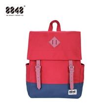 8848 Fashion Patchwork Laptop Backpack For Women Mens SchoolBag Female Mochila Backpacks Teenage Girls 173-002-031