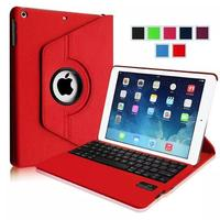 For Apple IPad Air 5 Tablet 360 Degree Rotating PU Leather Case Stand Cover Removable Bluetooth