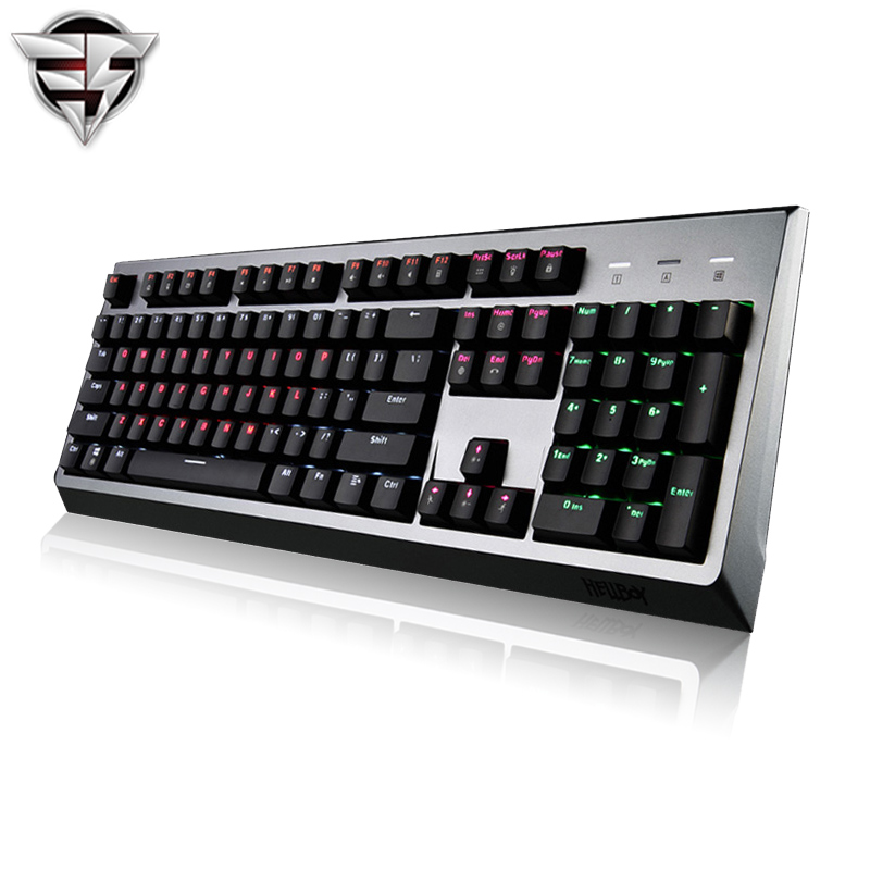 HELLBOY MX600 Mechanical Keyboard 104key black red Cherry MX Switches Backlight Gaming Keyboard For Laptop PC Computer office secret key chubby jelly tint pack cherry red цвет cherry red variant hex name df140d