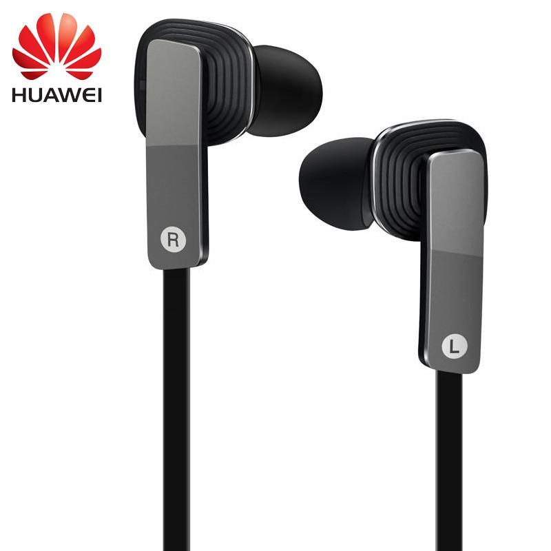Huawei Earphone 3.5mm 4PIN Dynamic Balanced Armature Earphones AM175 for Huawei Honor Earbuds 2 Unit Circle Iron Ear Phones original xiaomi hybrid earphone 1more mi headphones headset 2 unit in ear circle iron mixed piston 4 for iphone samsung lg htc