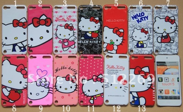 Hello kitty ipod case all clear