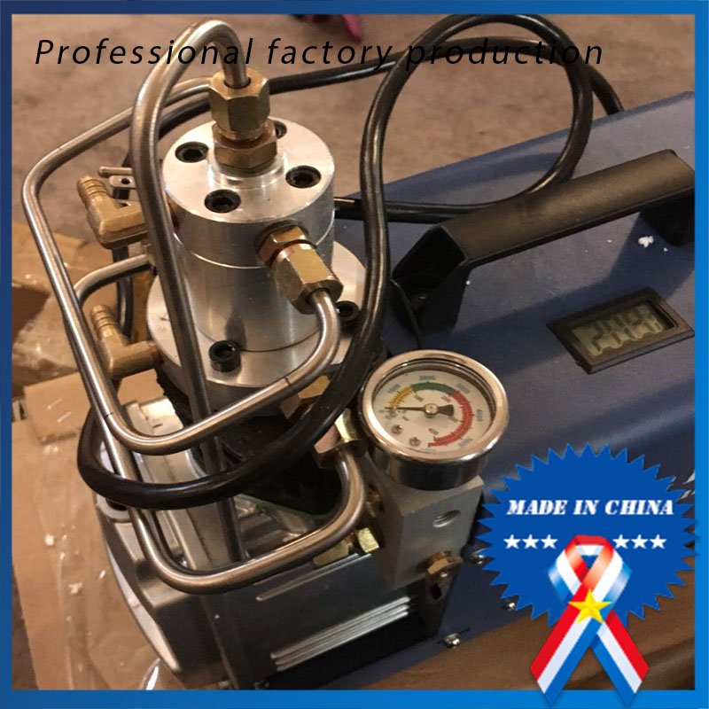 Air Compressor 30 MPA 4500 PSI 300Bar 220 V Electrical High Pressure PCP Rifle Refilling Air Pump Water Cooling Airgun