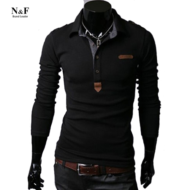 2016 Polo Long Sleeve Men Polo Shirt Camisas Polo Uomo Brand Clothing Ralphmen Fitness Monclaer Hacket Eden Park Tee Shirt Homme