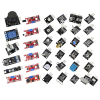 Free Shipping Helpful 37 In 1 For Starters Compatible Sensor Module Kit For Arduino Vibration Switch