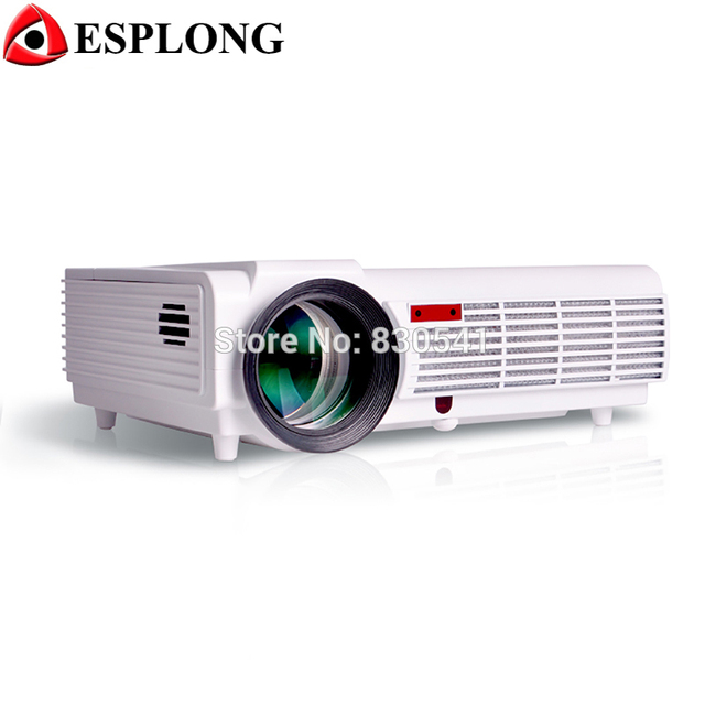 LED96 3600 lumens Video Projector HDMI USB TV Full HD 1080P 3D LED Projector Wifi Proyector 5.8 inch LCD Beamer For Home Theater