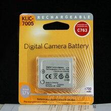 KLIC-7005 KLIC 7005 K7005 Digital Rechargeable Camera Battery Pack For Kodak C763 C875 C743 For Pentax DL-i8 FOR FUJI NP-40 F710