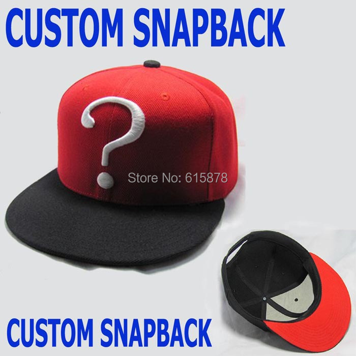 ed553cd6 Custom 3D Embroidery Logo Snapback Caps Hats Wholesale Free Shipping ...