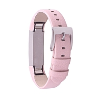 Fit Bit Alta Leather Bands Metal Buckle Genuine Leather Replacement Wrist Bands For Alta Prevent The