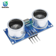 цена на HC-SR04 HCSR04 Ultrasonic Wave Detector Ranging Module Distance Sensor Transducer for Arduino DC 5V Trigger Sensor Module