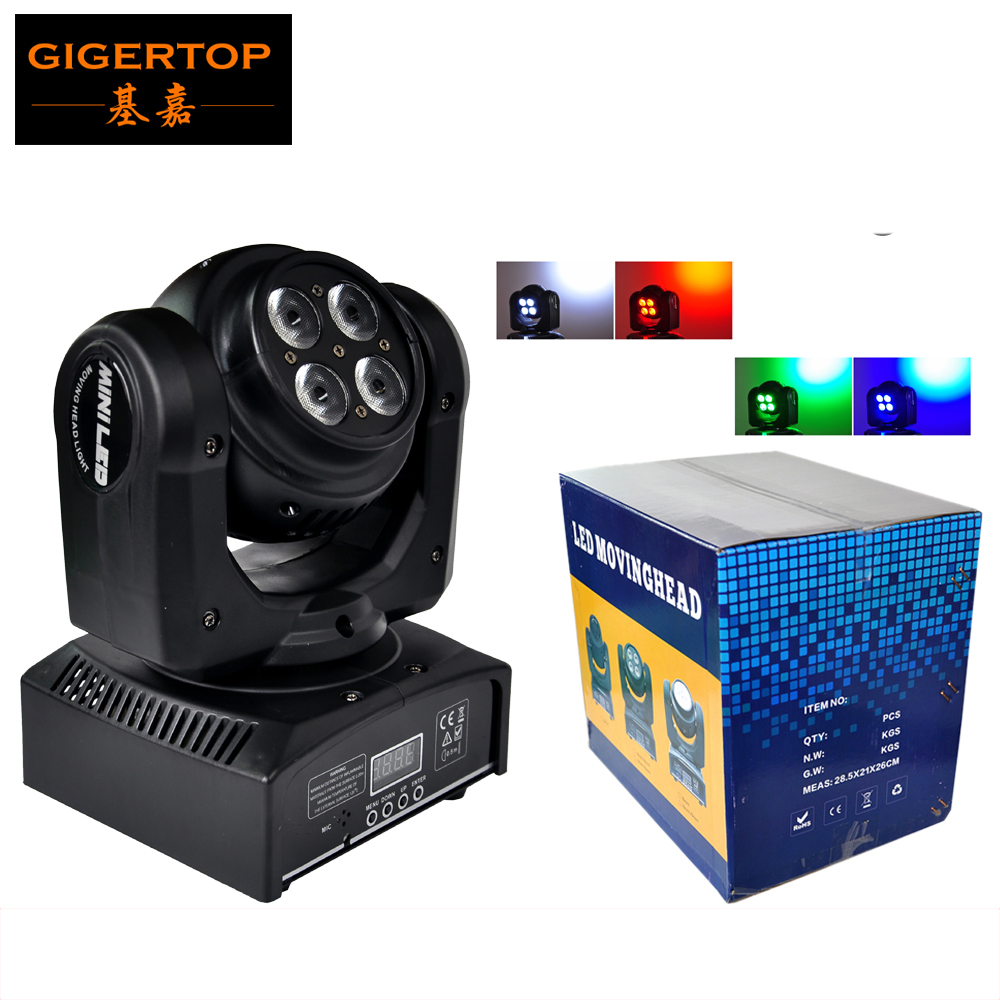 Freeshipping One Sample 100W Two-sided led moving head light DMX Stage Beam Effect Endless Rotate RGBW 4IN1 8*8W Led Tianxin