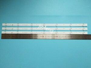 Image 2 - 20 sztuk x 32 cal aluminiowa płyta listwy LED w/soczewka optyczna Fliter TV Panel podświetlenie lampy długość 61.5cm darmowa wysyłka