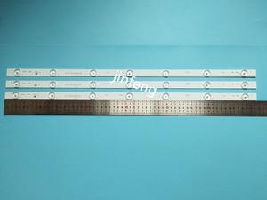 Image 2 - 20pcs x 32 inch Aluminum Plate LED Strips w/ Optical Lens Fliter TV Panel Backlight Lamps Length 61.5cm Free Shipping