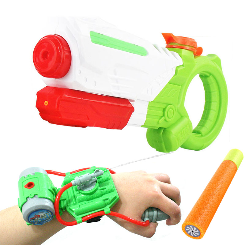 360ML Large Size Water Guns Water Fun Pools Gun Toys Large Size Summer Outdoor Wrist Gun Toys For Beach Gift For Boys