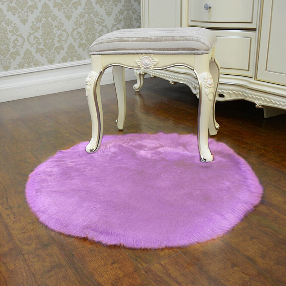 Soft seat mat on the stool