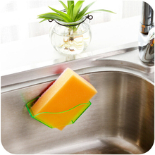 3 Pcs Kitchen Sink Accessories Sponge Holder Soap Bathroom Accessories Toothbrush Holder Sucker Organizer Plastic Storage Box