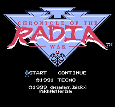 Chronicle of the Radia War 60 Pin Game Card Customized For 8 Bit 60pins Game Player