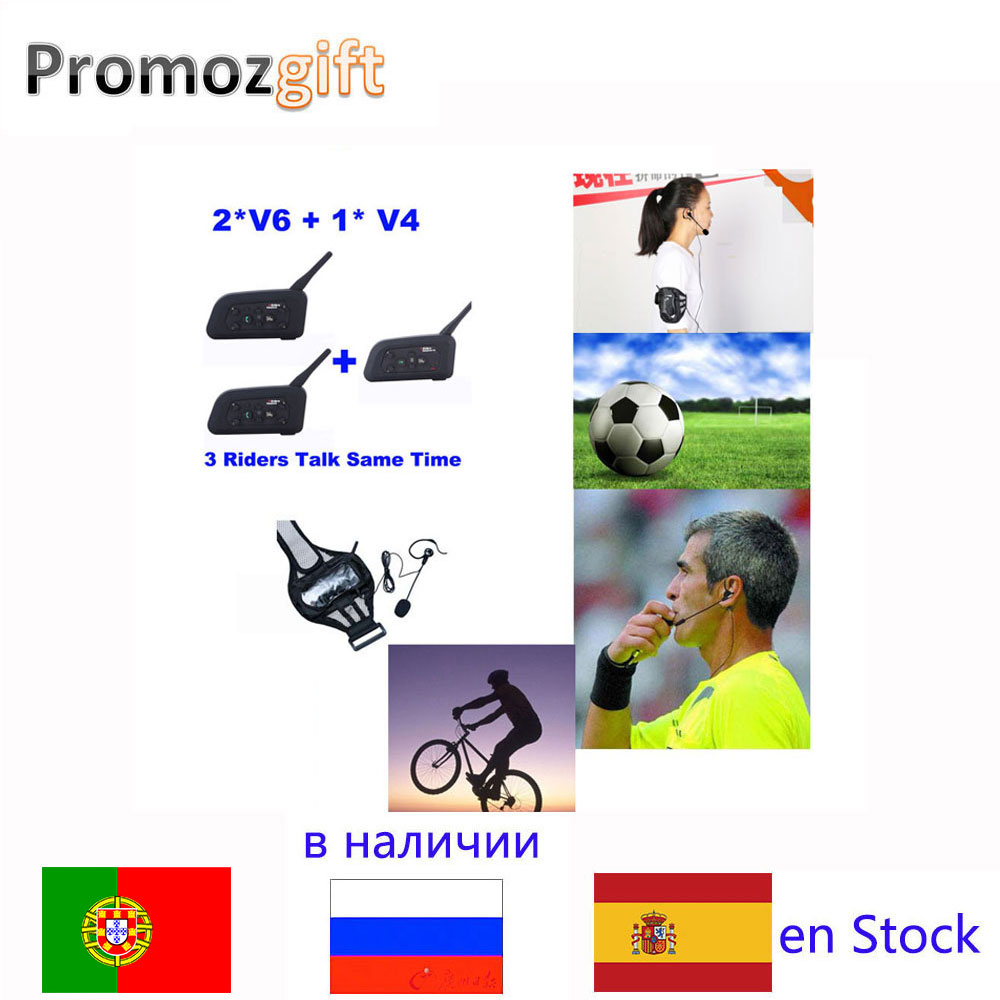 Referee Headset Earphone Coach Football Arbitration 1200M V4 6 for Judger 2--V6 Same-Time title=