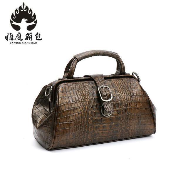 dc7fcfedbd16 Luxury Brand Designer Retro Handbags Woman Genuine Leather Bags For Women  2018 Crossbody Shoulder Chain Bags Bolsa Feminina
