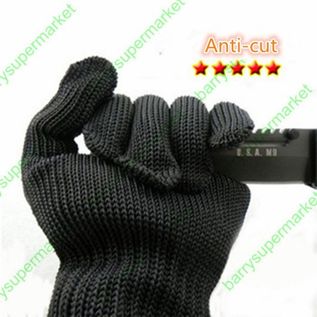 10PAIR New Arrival 100 Kevlar Working Protective Gloves Cut resistant Anti Abrasion Safety Gloves Cut Resistant