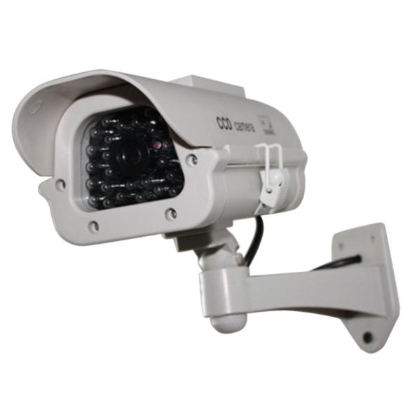 NI5L outoodr Maniquí Fake cámara de Energía Solar de interior de cámaras de seguridad cctv de la Bala cámara de vigilancia camaras de seguridad