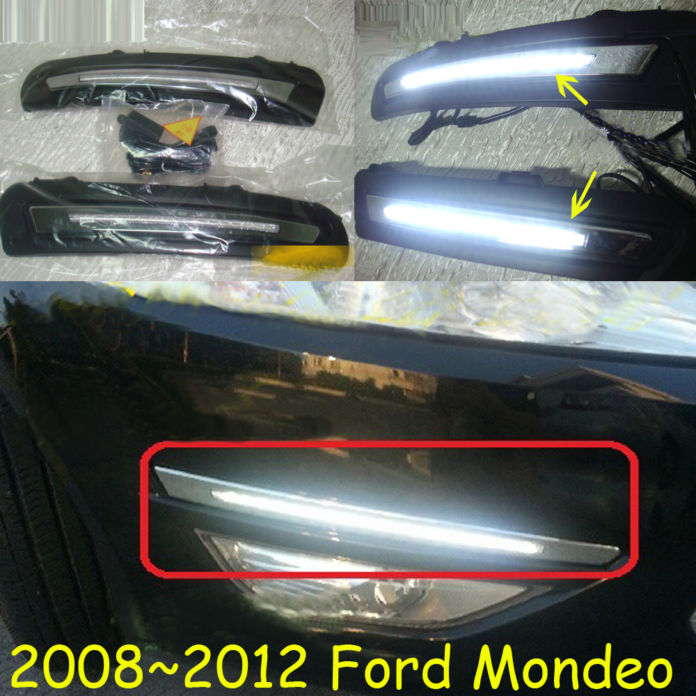 For Monde daytime light;2008~2012/2013~2016,Free ship!LED,Monde fog light,edge daytime light,kuga;Monde 2013 2016 innova daytime light free