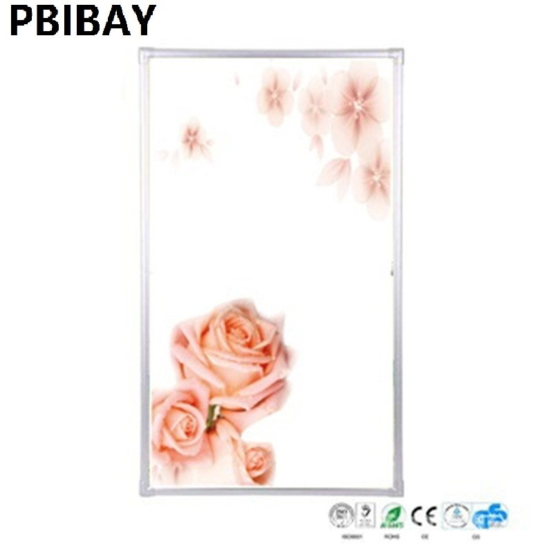5 PCS/lot,JT500W-3,W,60*100cm,Free shipping,wall mount crystal,warm wall with picture,Infrared heater,carbon crystal heater