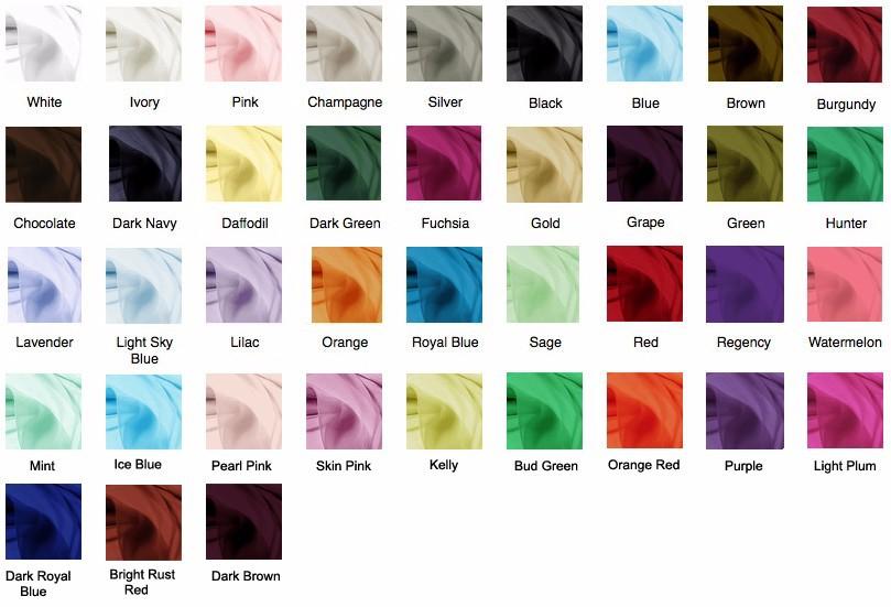 Chiffon-Colors