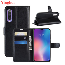 For Xiaomi mi 9 se Case Flip Leather Phone Stand Cover Filp Cases 5.97