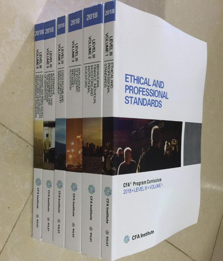 This textbook for the 2018 CFA official use of the examination materials  LEVEL III 3
