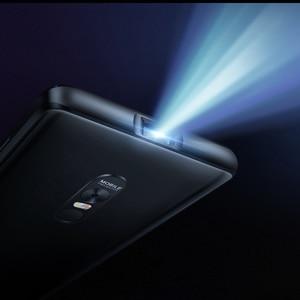 Image 4 - Blackview מקסימום 1 אלחוטי מקרן נייד טלפון 6.01 AMOLED 4680mAh אנדרואיד 8.1 6GB + 64GB קולנוע ביתי מקרנים Smartphone