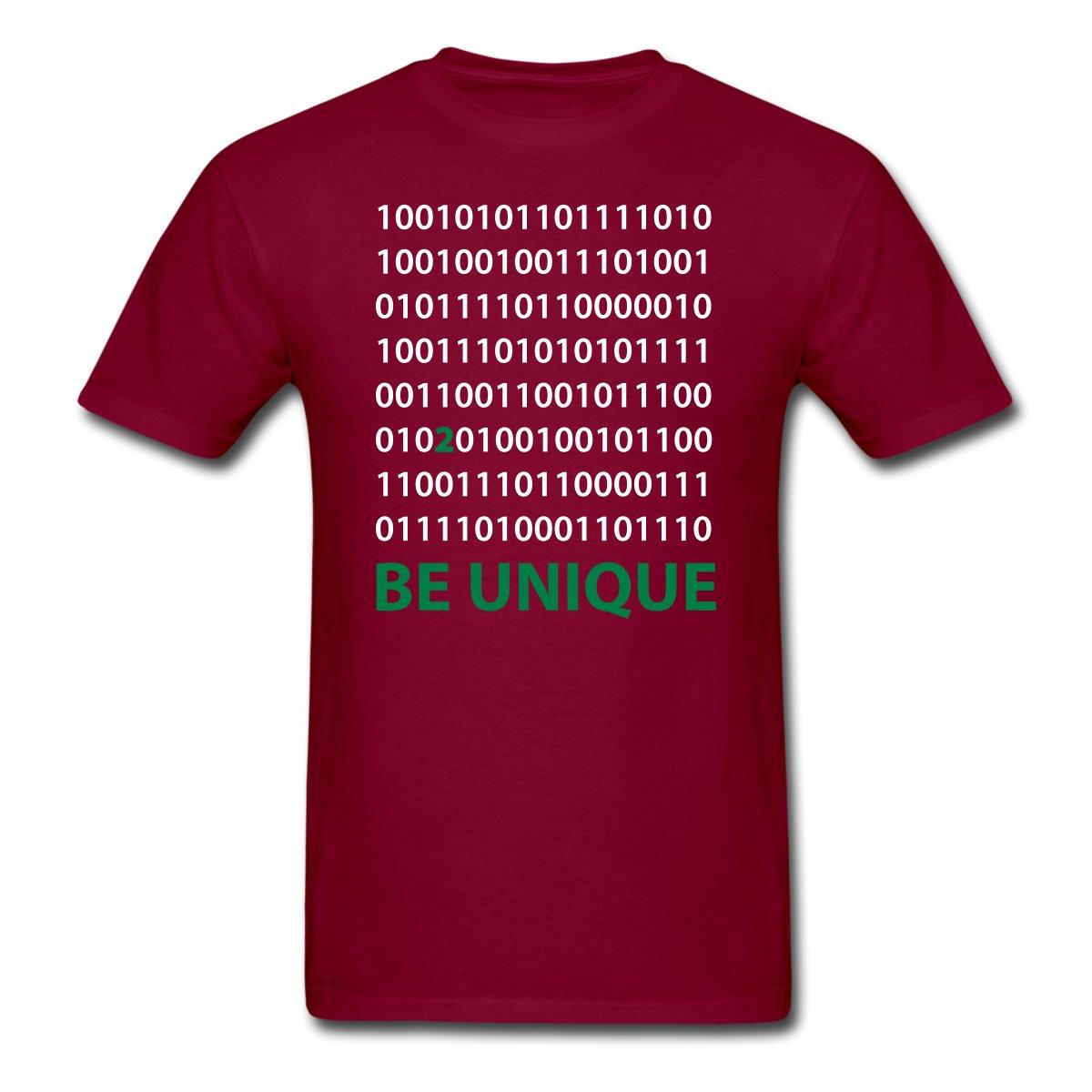 Desain t shirt unik - Menjadi Unik Bilangan Biner Pria T Shirt Desain T Shirt Men S Hal Hal