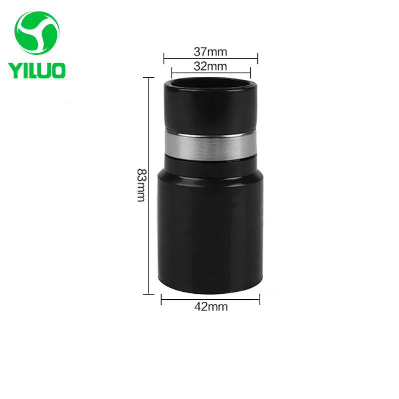 цена на 1 pcs Vacuum Cleaner Connector Inner Diameter 32mm Outder diameter 37mm for hose 32mm/39mm,vacuum cleaner parts