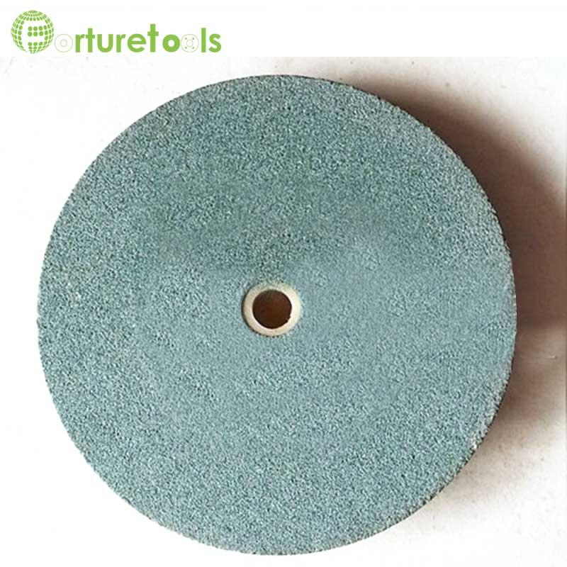 Meule 1 pièce en oxyde d'aluminium noir et blanc et carbure de - Outils abrasifs - Photo 2