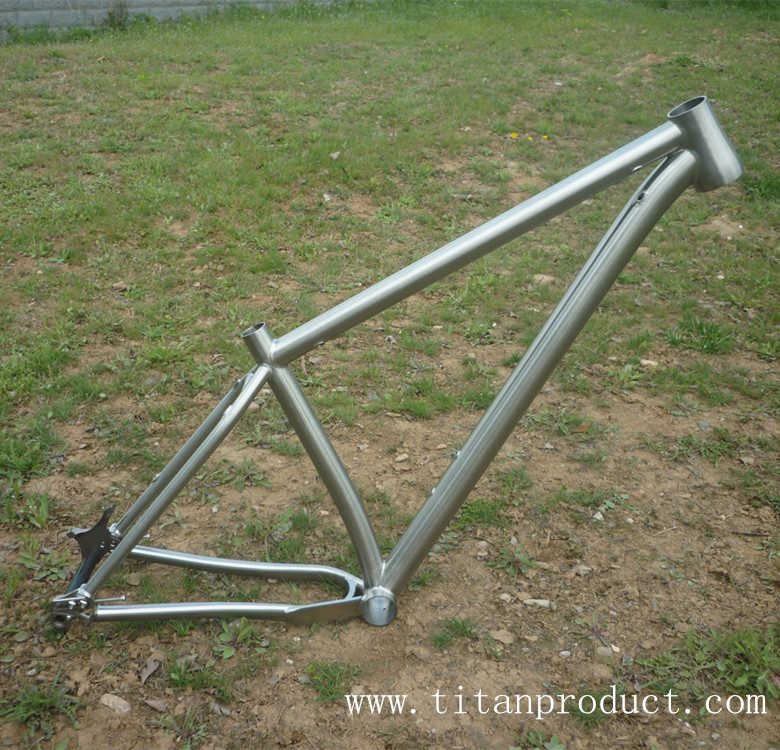 Titanio MTB Marcos 27.5 ruedas en Marco de la bicicleta de Deportes ...