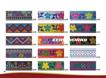 3.0cm-3.5cm exquisite nation style ribbons,dance clothes decoration accessories trimming,XERY13783Z