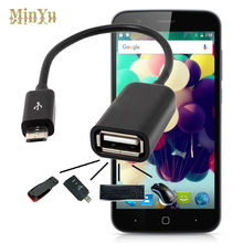 Micro USB 2.0 Host OTG Cable Adapter for Vernee Thor 4G OTG Converter Cable for UHANS H5000, U100