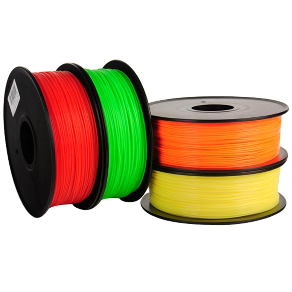 8rolllot 3D Printer Filaments PLA ABS 1.75 mm 1Kgspool