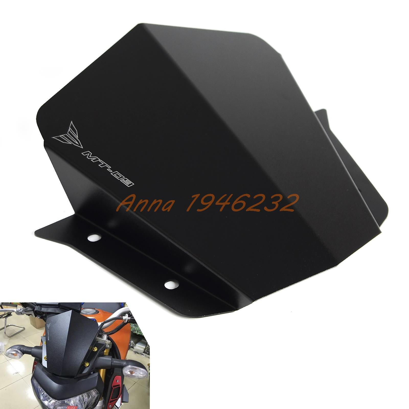 Motorcycle Upper Headlight Top Cover Panel Fairing For Yamaha MT09 2014 2015 2016 MT 09