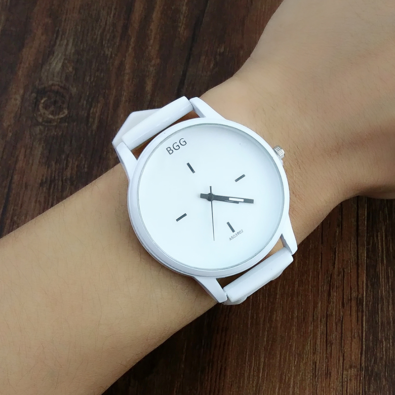 Hot Sale Fashion Big Dial Wrist Watches 2016 New Design -4643
