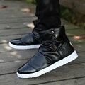 Personalidad otoño zapatos blancos de los hombres zapatos casuales zapatos de los hombres de hip hop de la marea Británica Metrosexual zapatos altos