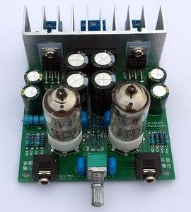 Image 3 - Diy kits HIFI 6J1 tube amplifier Headphones amplifiers LM1875T power amplifier Board 30W preamp bile buffer