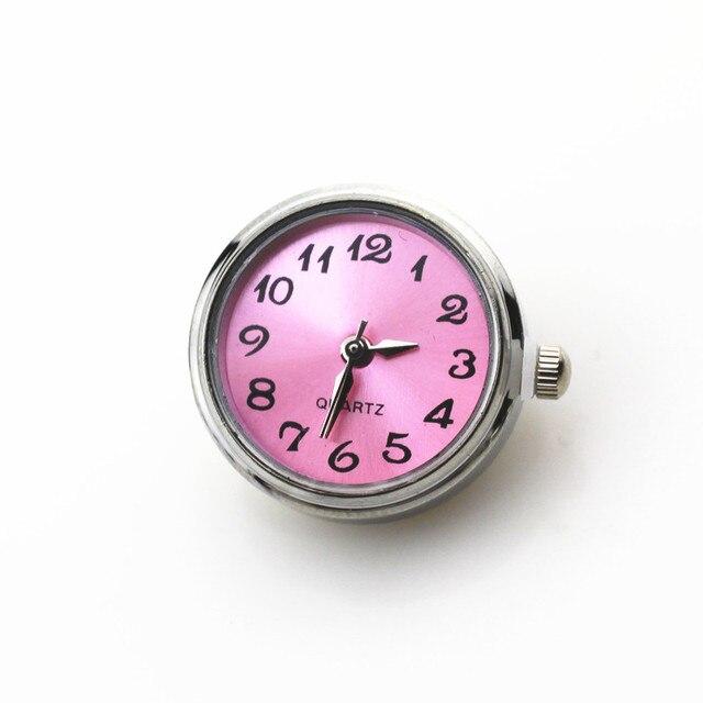 новинка 6 шт/лот разноцветные часы с кнопками застежками для фотография